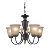 Cornerstone by Elk Greenville 5 Light Chandelier in Oil Rubbed Bronze 1605CH/10