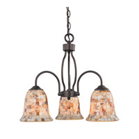 Cornerstone by Elk Berkley 3 Light Chandelier in Oil Rubbed Bronze 1703CH/10