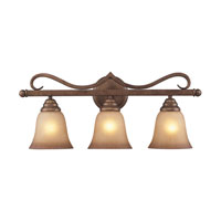 Cornerstone by Elk Lawrenceville 3 Light Bath in Mocha 1803BB/12