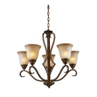 Cornerstone by Elk Lawrenceville 5 Light Chandelier in Mocha 1805CH/12