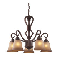 Cornerstone by Elk Lawrenceville 5 Light Chandelier in Mocha 1825CH/12