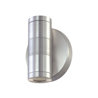 Cornerstone by Elk Signature 2 Light LED Sconce in Brushed Aluminum with Clear Glass 5232WS/29