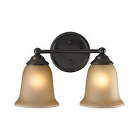 Cornerstone by Elk Sudbury 2 Light Bath in Oil Rubbed Bronze 5602BB/10