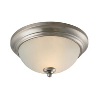 Cornerstone by Elk Huntington 2 Light Flush Mount in Brushed Nickel 7002FM/20