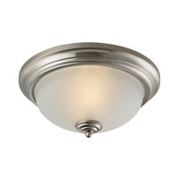 Cornerstone by Elk Huntington 3 Light Flush Mount in Brushed Nickel 7003FM/20