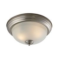 Cornerstone by Elk Easton 2 Light Flush Mount in Brushed Nickel 7102FM/20