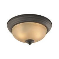 Cornerstone by Elk Easton 3 Light Flush Mount in Oil Rubbed Bronze 7103FM/10