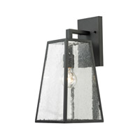 Mediterano 1 Light 18 inch Charcoal Outdoor Wall Lantern