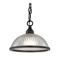 Liberty Park 1 Light 9 inch Oil Rubbed Bronze Pendant Ceiling Light