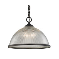 Liberty Park 1 Light 15 inch Oil Rubbed Bronze Pendant Ceiling Light
