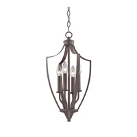 Cornerstone by Elk Signature 4 Light Foyer Pendant in Oil Rubbed Bronze 7704FY/10