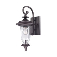 Cornerstone by Elk Trinity 1 Light Outdoor Wall Lantern in Oil Rubbed Bronze 8001EW/75