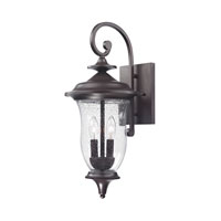 Cornerstone by Elk Trinity 2 Light Outdoor Wall Lantern in Oil Rubbed Bronze 8002EW/75