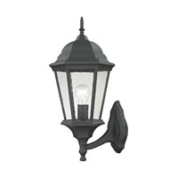 Cornerstone by Elk Temple Hill 1 Light Outdoor Wall Lantern in Matte Textured Black 8111EW/65