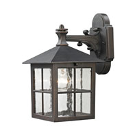 Cornerstone by Elk Shaker Heights 1 Light Outdoor Wall Lantern in Hazelnut Bronze 8201EW/70