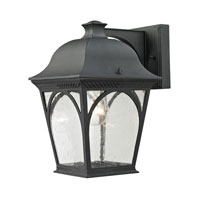 Cornerstone by Elk Cape Ann 1 Light Outdoor Wall Lantern in Matte Textured Black 8301EW/65