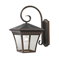 Ridgewood 1 Light 18 inch Hazelnut Bronze Outdoor Wall Lantern