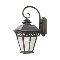 Cornerstone by Elk Mendham 1 Light Outdoor Wall Lantern in Hazelnut Bronze 8501EW/70
