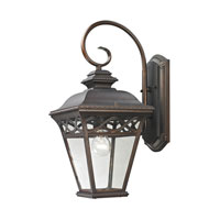 Cornerstone by Elk Mendham 1 Light Outdoor Wall Lantern in Hazelnut Bronze 8511EW/70