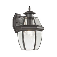 Ashford 1 Light 12 inch Oil Rubbed Bronze Outdoor Wall Lantern