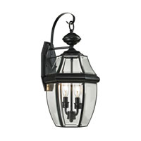 Ashford 2 Light 21 inch Black Outdoor Wall Lantern