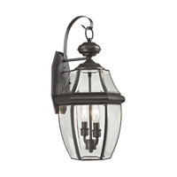 Ashford 2 Light 21 inch Oil Rubbed Bronze Outdoor Wall Lantern