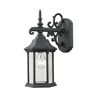 Cornerstone by Elk Spring Lake 1 Light Outdoor Wall Lantern in Matte Textured Black 8611EW/65