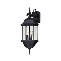 Cornerstone by Elk Spring Lake 3 Light Outdoor Wall Lantern in Matte Black with clear Glass 8613EW/65