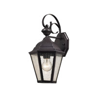 Cotswold 1 Light 15 inch Oil Rubbed Bronze Outdoor Wall Lantern