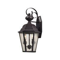 Cotswold 2 Light 19 inch Oil Rubbed Bronze Outdoor Wall Lantern
