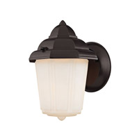 Signature 1 Light 9 inch Oil Rubbed Bronze Outdoor Wall Lantern