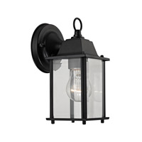 Cornerstone by Elk Signature 1 Light Outdoor Wall Lantern in Matte Black with clear Glass 9231EW/65