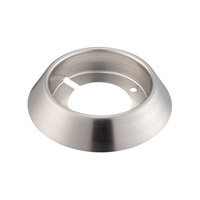Ursa 3 inch Brushed Aluminum Surface Mount Collar