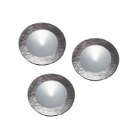 Ursa LED 3 inch Brushed Aluminum Disc Light Kit