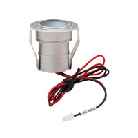 Cornerstone by Elk Alpha 1 Light LED Mini Button in Brushed Aluminum A733DL/29