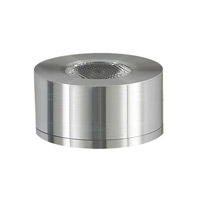 Cornerstone by Elk Alpha 1 Light LED Surface Mount Button in Brushed Aluminum A739DL/29