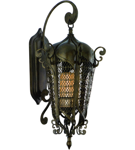 Corbett Lighting Tangiers 10 Light Outdoor Wall Lantern in Tangiers Bronze 110-22 photo