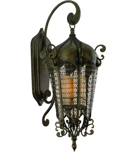 Corbett Lighting 110-24 Tangiers 13 Light 43 inch Tangiers Bronze Outdoor Wall Lantern photo