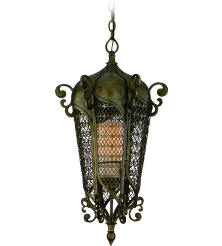 Corbett Lighting Tangiers 2 Light Outdoor Pendant in Tangiers Bronze 110-92 photo