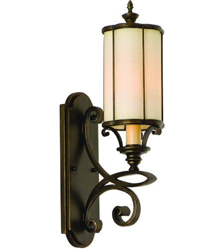 Corbett Lighting Montecito 5 Light Wall Sconce in Montecito Bronze 112-11 photo