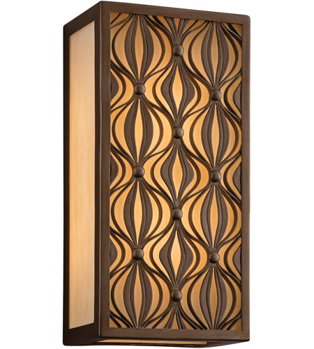 Corbett Lighting Mambo 1 Light Wall Lantern Fluorescent in Mambo Bronze 135-23-F photo