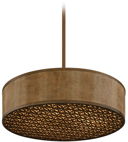Corbett Lighting Mambo 6 Light Pendant in Mambo Bronze 135-46 photo