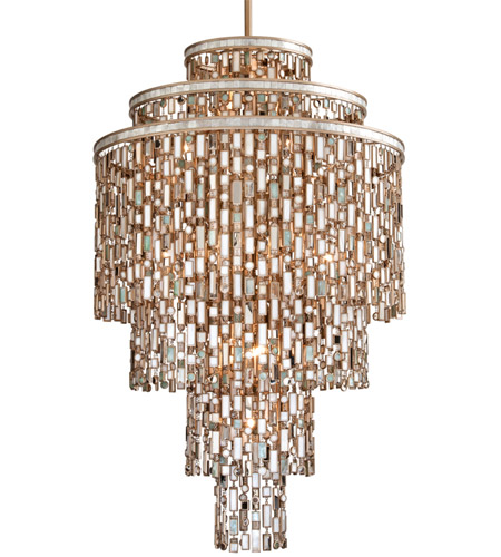 Corbett Lighting Dolcetti 19 Light Pendant in Dolcetti Silver 142-719 photo