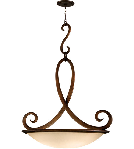 Corbett Lighting Dauphine 5 Light Pendant in Bronze 153-45 photo