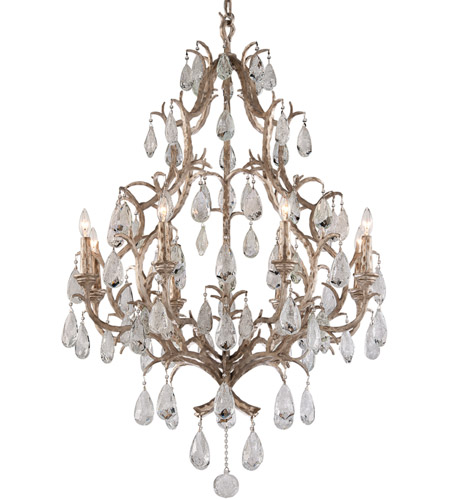 Corbett Lighting Hand-Crafter Iron Chandeliers