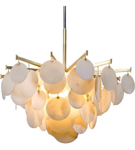 Corbett Lighting 228-44 Serenity LED 40 inch Gold Leaf Chandelier Ceiling Light  sc 1 st  Corbett Lighting - Lighting New York & Corbett Lighting 228-44 Serenity LED 40 inch Gold Leaf Chandelier ...