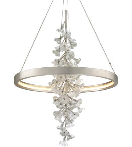 Corbett Lighting 269 72 Jasmine Led 36 Inch Silver Leaf Pendant Ceiling Light
