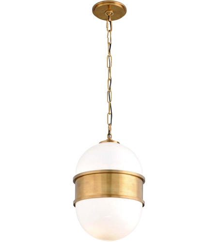 Corbett Lighting 272-42 Broomley 2 Light 14 inch Vintage Brass Pendant Ceiling Light photo
