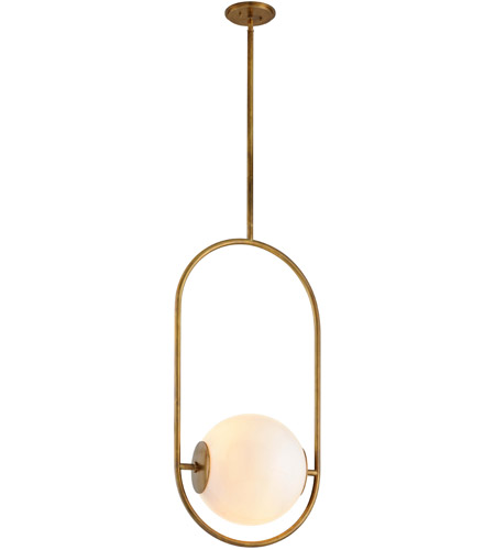 Corbett Lighting 273-43 Everley 1 Light 13 inch Vintage Brass Pendant Ceiling Light photo