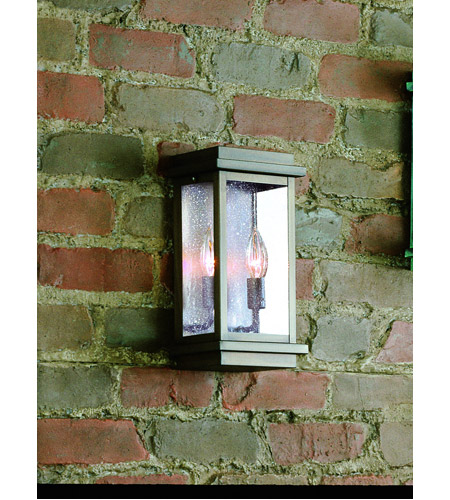 Corbett Lighting 3441-1-02-F La Jolla 1 Light 12 inch Old Bronze Outdoor Wall Lantern Fluorescent photo
